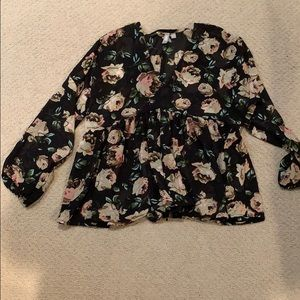 ASOS floral top